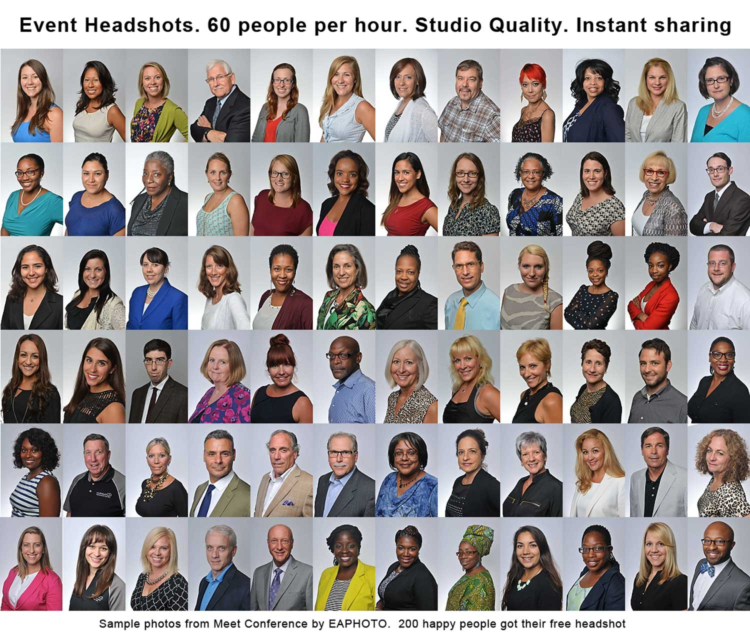 The Success of Mini Portrait Sessions for Corporate Events.